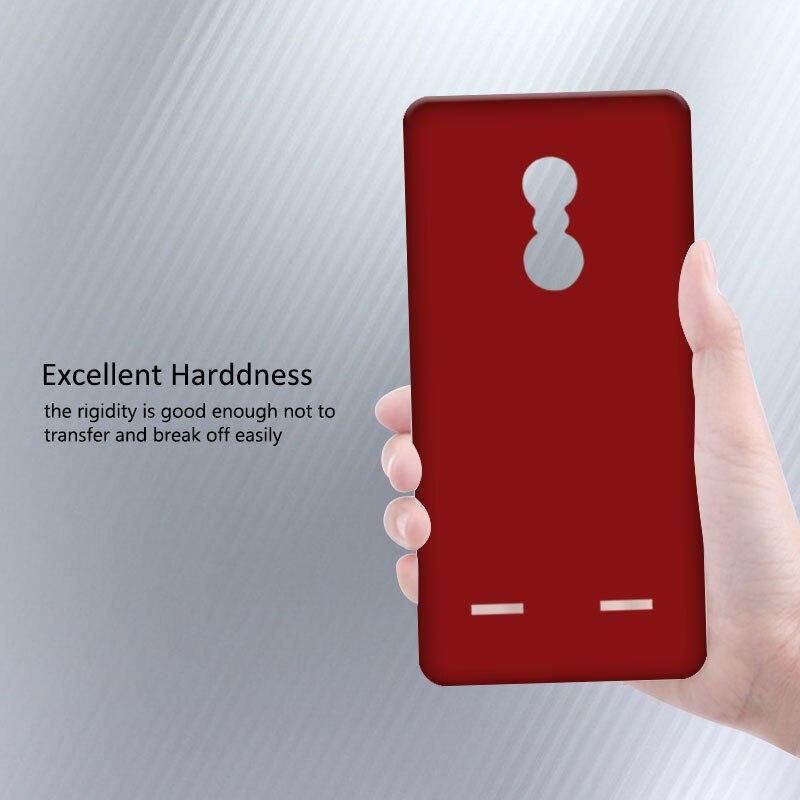 Новые прибыл чехол для Coque Lenovo K6 чехол Vibe K6 матовая скраб принципиально для Lenovo k33a48 K6 5 дюймов + подарок