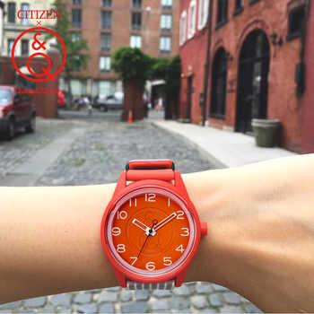 Citizen Q&Q watch men Set top Luxury Brand Waterproof Sport Quartz solar men Watch Neutral watch Relogio Masculino reloj 0J049Y - DISCOUNT ITEM  49% OFF All Category