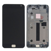 Black New 5.5″ LCD Display Touch Screen Digitizer Glass Assembly Frame For Meizu MX4 Pro  Replacement