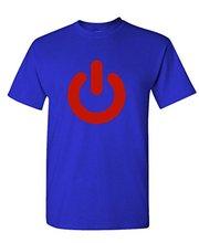 Classic Power Button men t-shirt