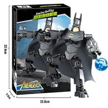 Marvel Super Heroes Avengers Infinity War Thanos Batman Spiderman Building Blocks Toys For Children XD329