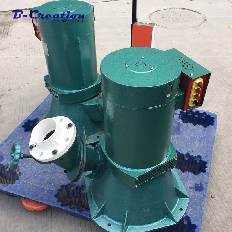 10000w 230V 380v 400V water Hydroelectric generator Single three-phase Low Speed Start NdFeB permanent magnet generator for SALE