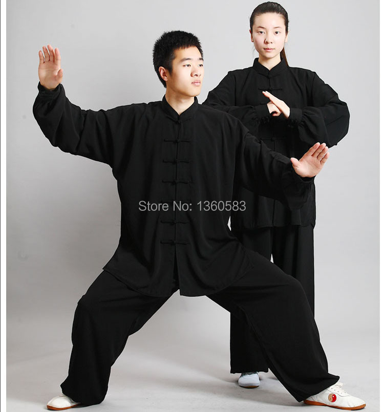 цена High Quality Tai chi clothing Martial arts Suit Taijiquan practice Wushu performance clothes Kungfu uniforms онлайн в 2017 году