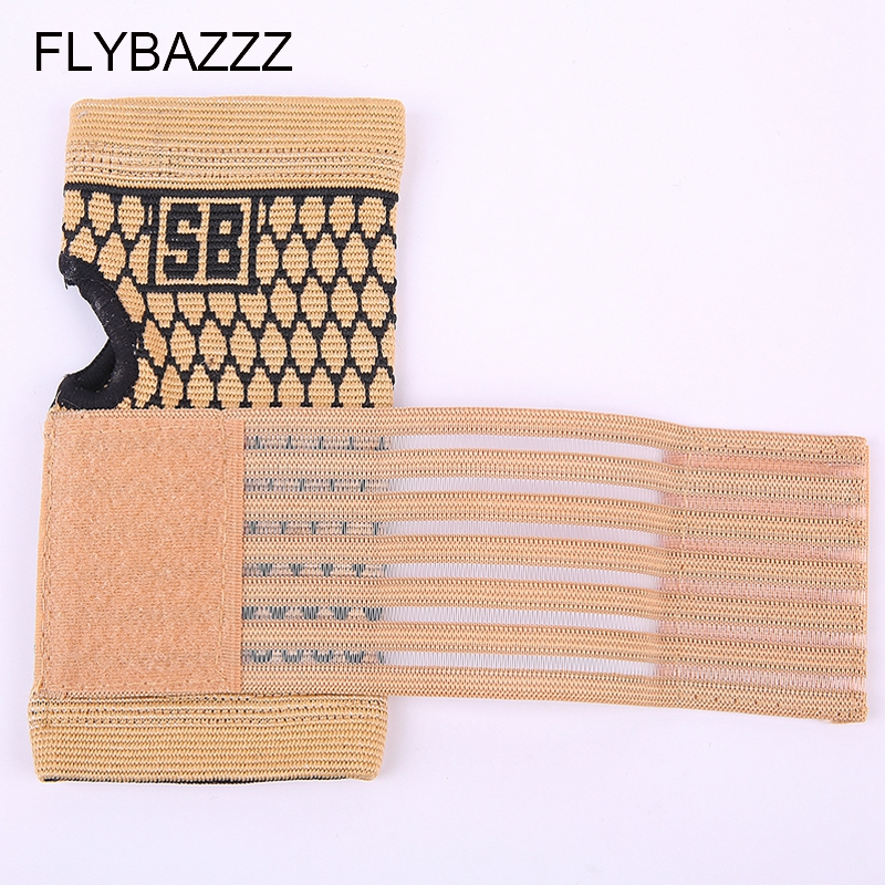 FLYBAZZZ 1PCS High Elastic Bandage Fitness Yoga Hand Palm Brace Wrist Support Crossfit Powerlifting Gym Wraps Palm Pad Protector (4)