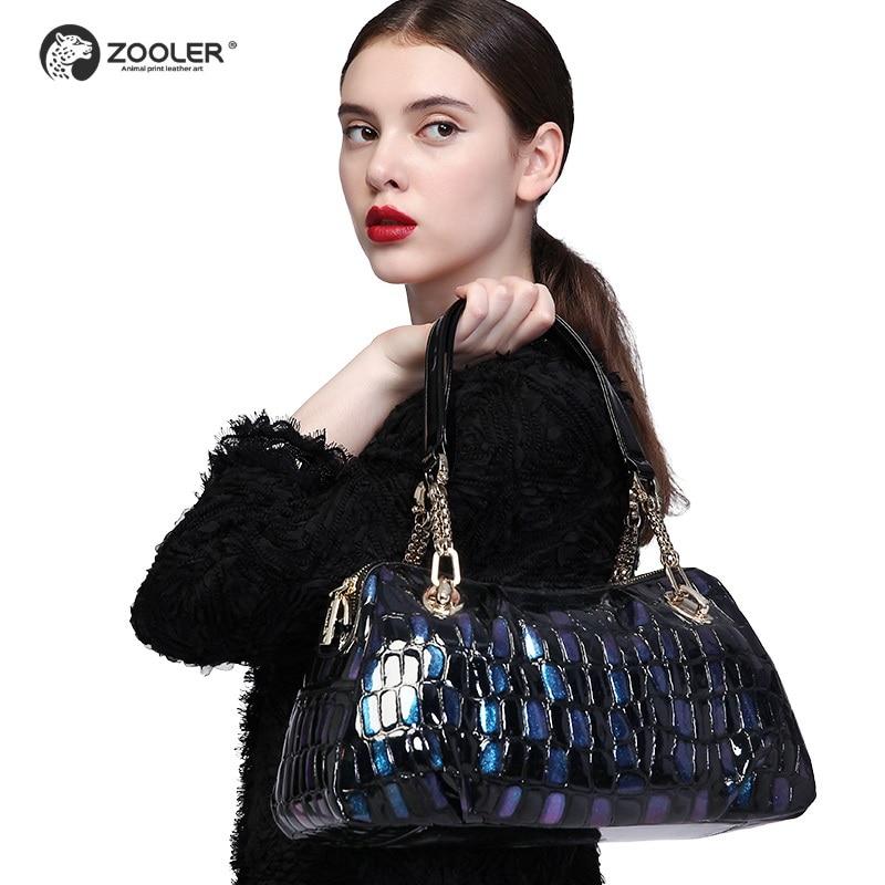 ZOOLER brand leather bags women cow leather handbag Female Shoulder Messenger Bags 2019 new purse large