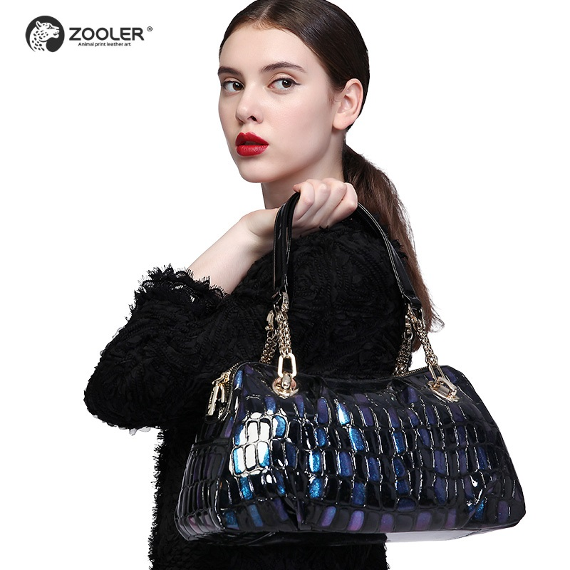 ZOOLER marque sacs en cuirs femmes vache en cuir sac à main Femme sacoches à bandoulière 2019 nouveau sac à main grand sac fourre-tout qualité #1066