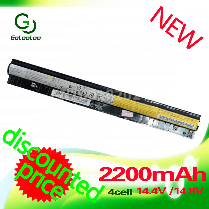 Golooloo 2200mah L12M4E01 Battery for Lenovo L12M4A02 L12S4A02 L12S4E01 Z40 Z50 G40-45 G50-30 G50-70 G50-75 g505s G400S G500S ac dc jack power charging port connector plug socket for lenovo b40 b50 g40 g50 z40 z50 z41 z51 y50 y70 e40