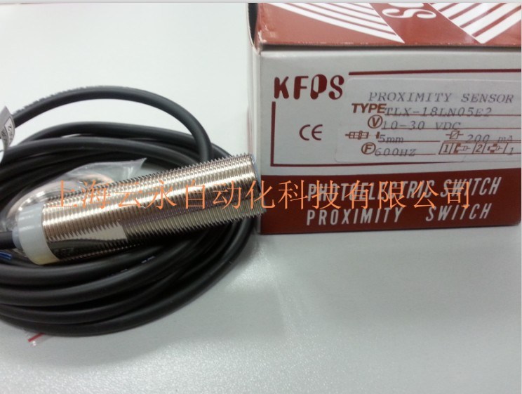 NEW  ORIGINAL TLX-18LN05E2 Taiwan kai fang KFPS twice from proximity switch turck proximity switch bi2 g12sk an6x
