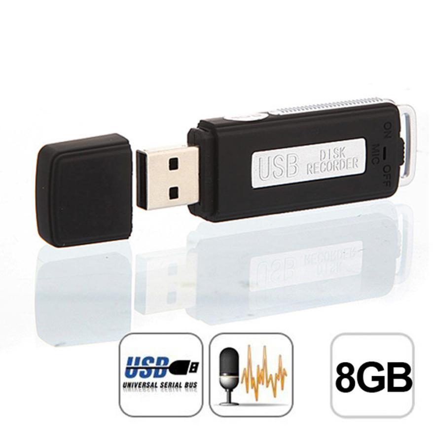 Bester preis! Mini USB Digital Pen Audio Voice Recorder Dictaphone 8 GB Flash Drive U-scheibe BK hohe qualität jun29