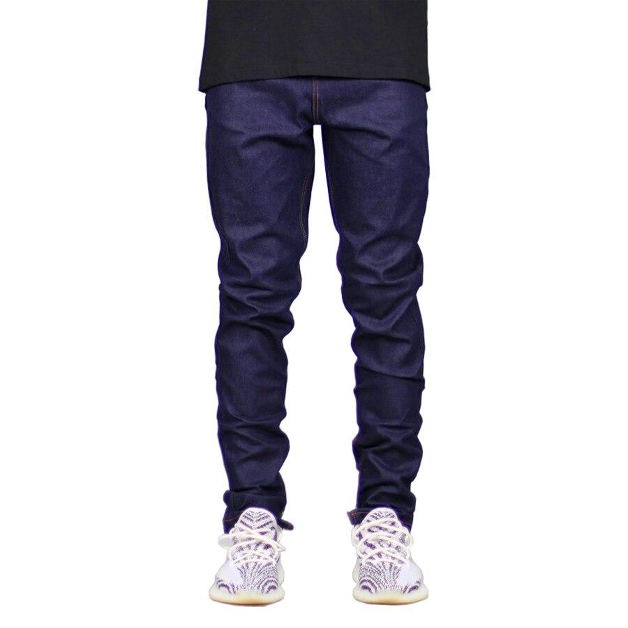 Men Jeans Fashion Dark Blue Slim Fit Denim Stretch Zippers Jeans For Men H5094 napapijri guji check dark blue
