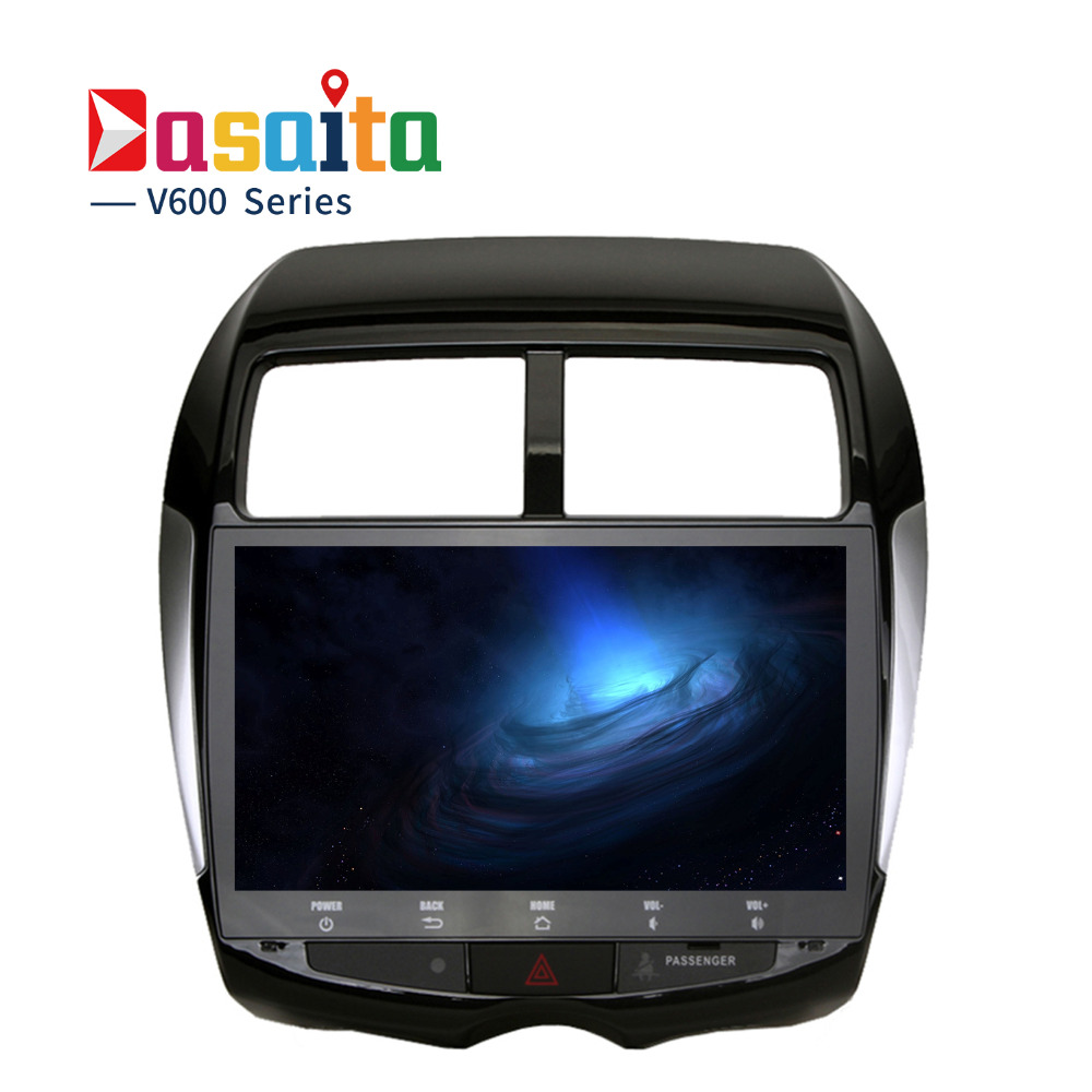 10.2 Android 6.0/Android 8.0 Autoradio GPS Lecteur pour Mitsubishi ASX 2010 2011 2012 Auto Stéréo Navigation audio Tête unité 4g