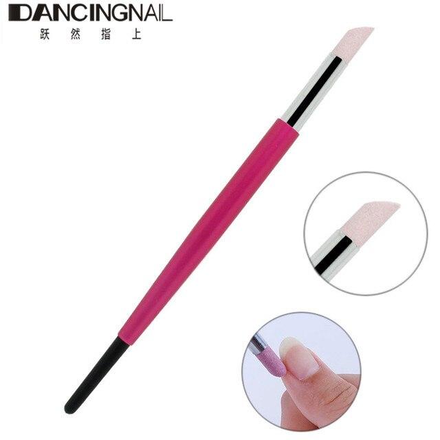 New Nail Art Cuticle Stick Pen Quartz Stone Head Remover Dead Skin ...