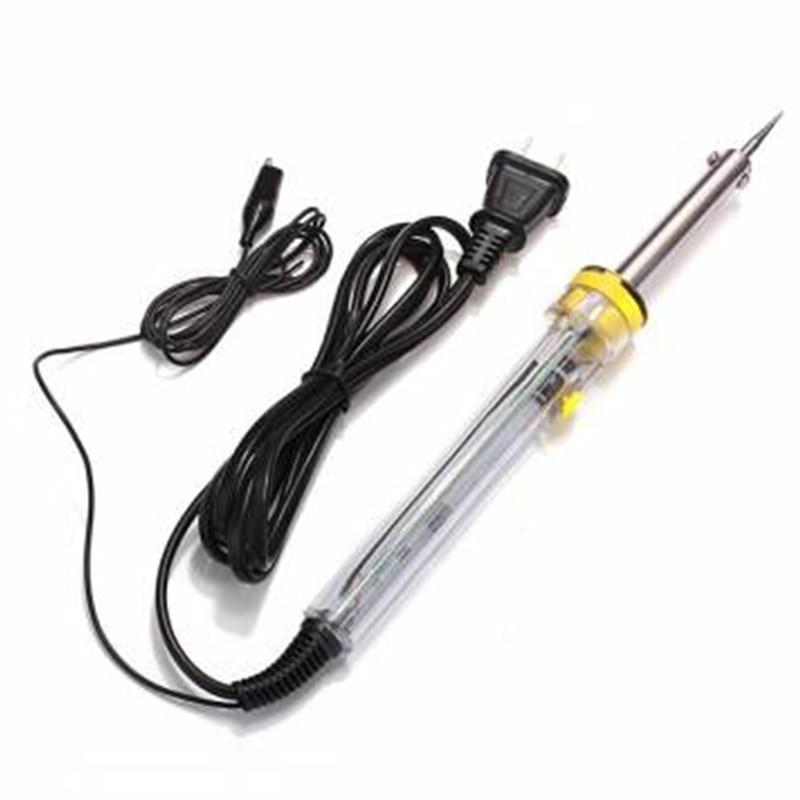 все цены на Adjustable Soldering Iron 220V Electric Iron Thermostat Thermostat 200-450 Degree Thermostat 60W External Thermal онлайн