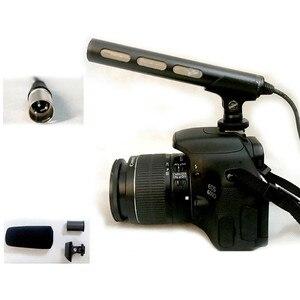 Image 3 - Para Sony ECM XM1 cámara DSLR profesional micrófono de condensador Sharp directividad micrófono de pistola Video de la entrevista de repuesto accesorio