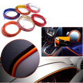 5 Meters Car Grille Interior/Exterior Decoration Chrome Styling Decoration Moulding Trim Strip 5M*4mm