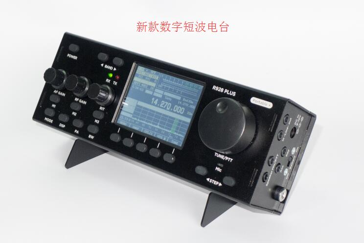 New R-928PLUS RTC 10W 1-30MHz HF QRP Transceiver SDR Transceiver Built-in Battery