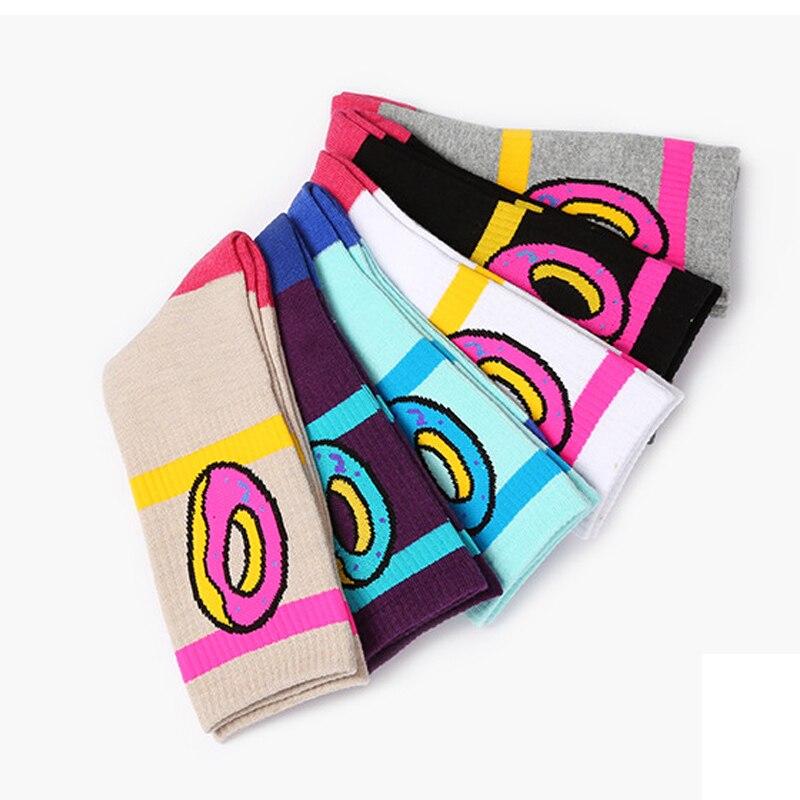 1cf1dba8213b 1Pair Odd Future Socks Donut Graphic Men Women Socks Cute Dot Cotton Long  Socks Novelty Striped Skateboard Socks-in Socks from Underwear   Sleepwears  on ...