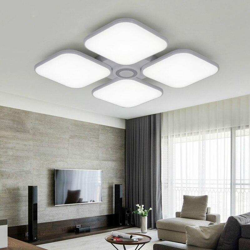 Celing Luzes Branco Frio + Branco Quente luminaria Luz Música Do Bluetooth Inteligente APP Controle Abajur/Luz de Teto Moderno - 4