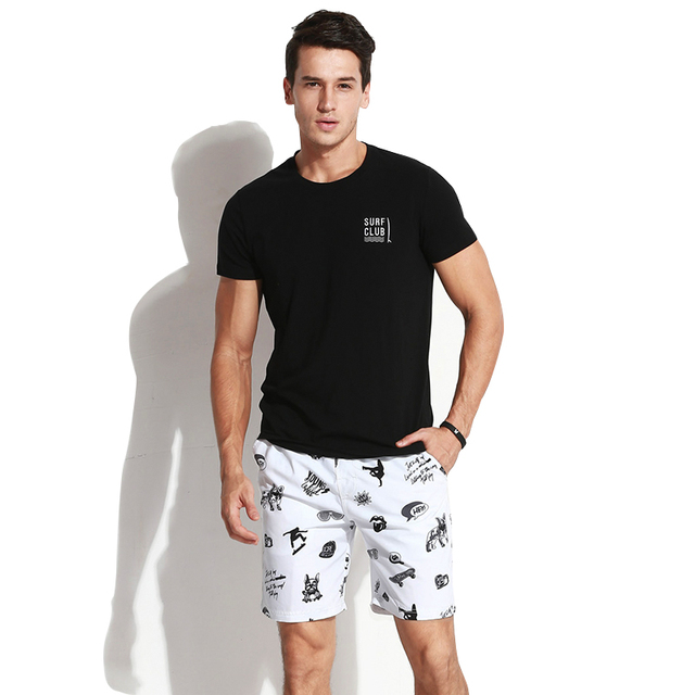 Gailang Brand Mens Casual Shorts Summer Beach Swimwear Men Boardshorts Board Short 2018 Quick Dry Swimsuits Man Jogger Trunks