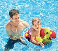 INTEX 59570 aquatic animal shapes knight seat floating ring child swim ring suitable for 2-5 years