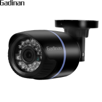 GADINAN 1080P 2MP HI3518E Bullet IP Camera Outdoor Security IP DC 12V Or 48V PoE Optional