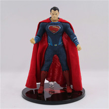 Wholesale  TOYZ Batman v Superman Dawn of Justice Superman ONE:12 Scale PVC Action Figure Collectible Model Toy цены