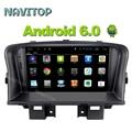Navitop 1024*600 Android 6.0 Dvd-плеер Автомобиля gps для Chevrolet Cruze 2008 2009 2010 2011 2012 2013 2014 радио стерео навигации