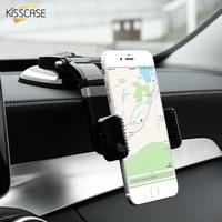 Stretchable KISSCASE Universal Carro Titular Suporte Do Telefone Para o iphone 7 7 Mais Brilhante Preto Otário Suporte Para Carro GPS Para Samsung Xiaomi