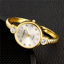 Luxury Gold Stainless Steel Women Watches Fashion Woman Bracelet Bangle Watch With Crystal Ladies Watch Female Clock Reloj Mujer hot sale top luxury gold watch fashion long leather bracelet watch women watches ladies bangle quartz watch hour reloj mujer