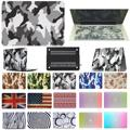 "2in1 Match pair colorful Hard Case shell For mac Macbook Air Pro Retina 11"" 12"" 13"" 15"" + English Keyboard Skin Cover"