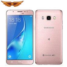 Original desbloqueado samsung galaxy j5 2016 j510f quad core 5.2 polegada 2gb ram 16gb rom 13mp lte duplo sim usado telefone móvel