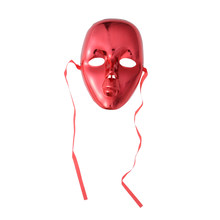 Full Face Masquerade Masks Plated Carnival Face Mask Performance Props with Elastic Head Band(China)