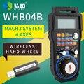 NC студийный гравировальный станок MACH3 система WHB04B беспроводное электронное ручное колесо 4 оси/6 осей ручной блок MPG дистанционное управлени...