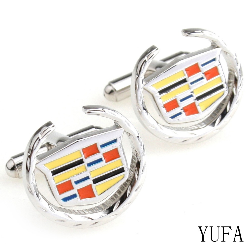 Cadillac Car Logo cufflinks jewelry manufacturers of high ...