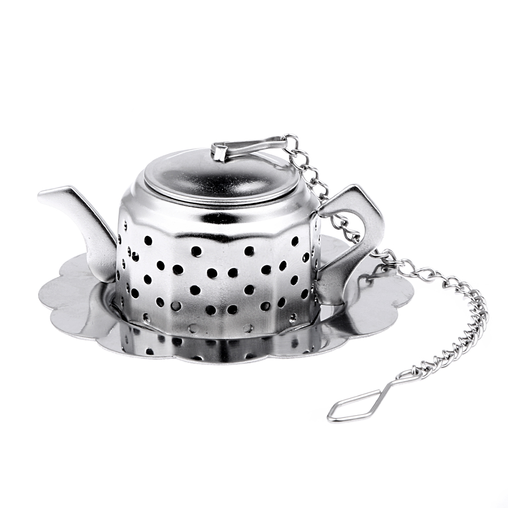 popular tea accessoriesbuy cheap tea accessories lots from china  - stainless steel tea leaf infuser teapot tea infuser spice drink strainerherbal filter tools tea accessories