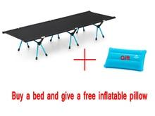 Ни один бренд Прямая Продажа с фабрики крепкий Удобный туристический коврик Портативный складная палатка кровать койка кровати для кемпинга
