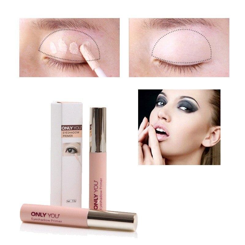 Makeup Eye Base Eyeshadow Primer Långvarig Dark-Cricle Remover - Smink - Foto 4
