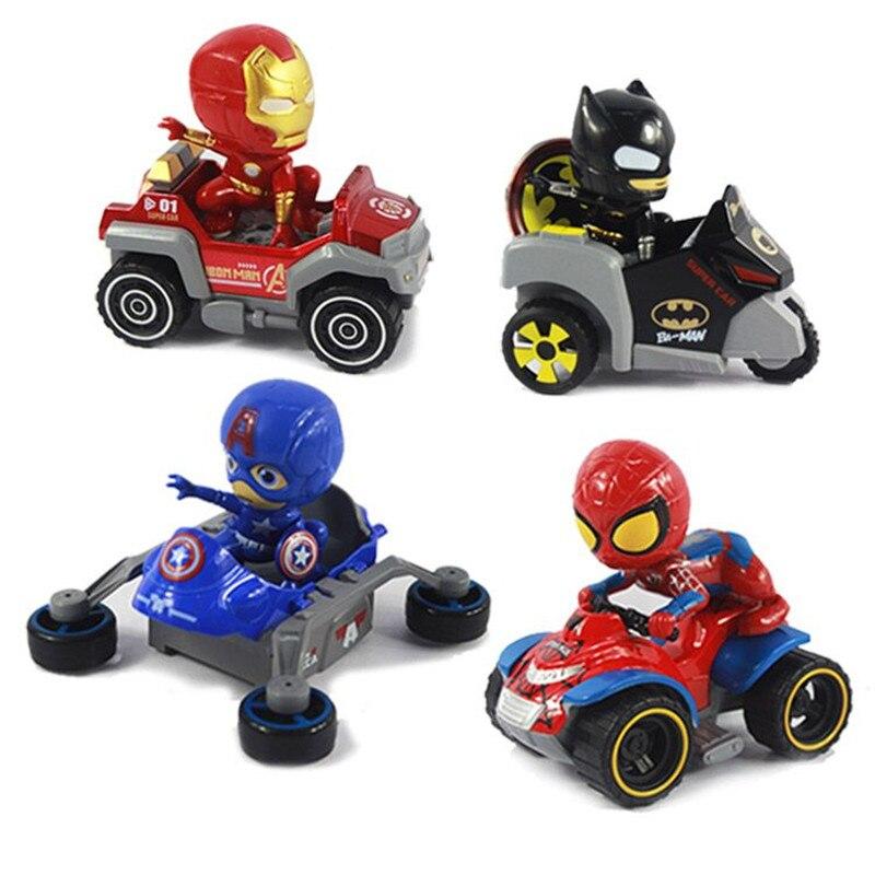 Clasico Para Ninos Coche De Juguete Superheroe Carro Batman Hombre