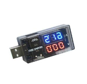 USB Current Voltage Tester USB Voltage Ammeter USB Detector Double Row Shows(China)