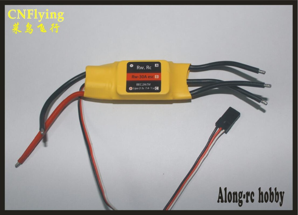 free shipping CW/CCW brushless ESC for car robot excavator RC model 30-200A Brushless Forward/ Reversible ESC