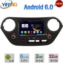 7″ 2GB RAM 32GB ROM Octa Core Android 6.0 DAB WIFI 3G/4G BT Car DVD Player Radio GPS For Hyundai I10 Left Hand Driving 2014-2017