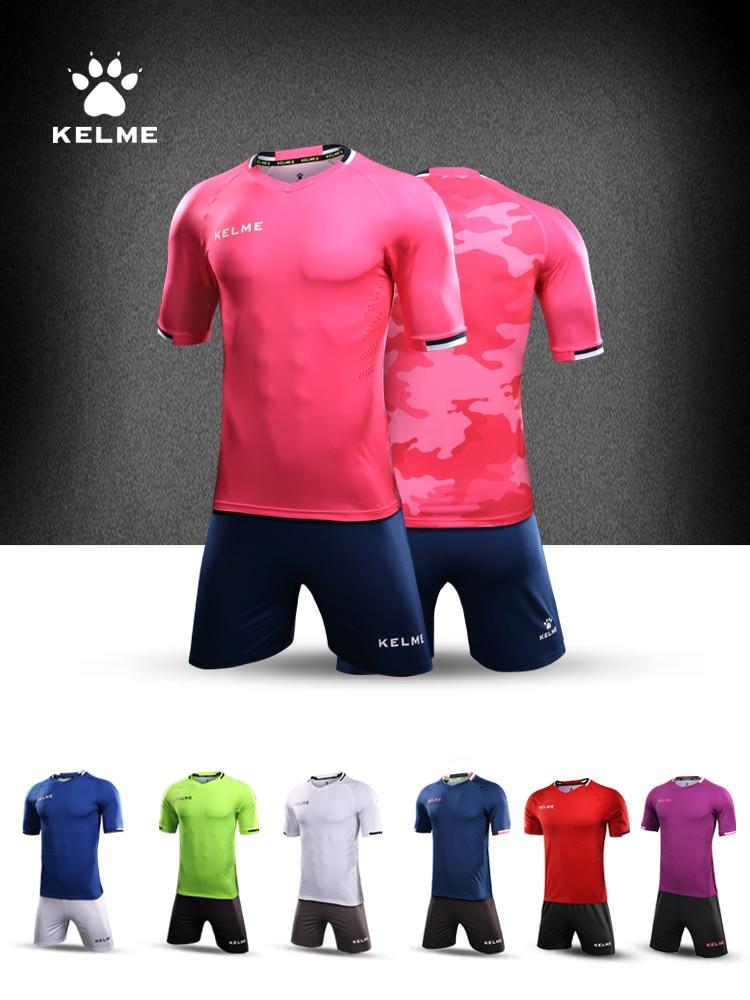 KELME Soccer Jerseys Uniform Survetement Football  Maillot De Foot Training Football Jerseys Shirt KMC160028