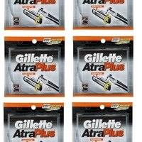 Gillette Atra плюс заправка лезвия 10 ct. (Упаковка из 6)