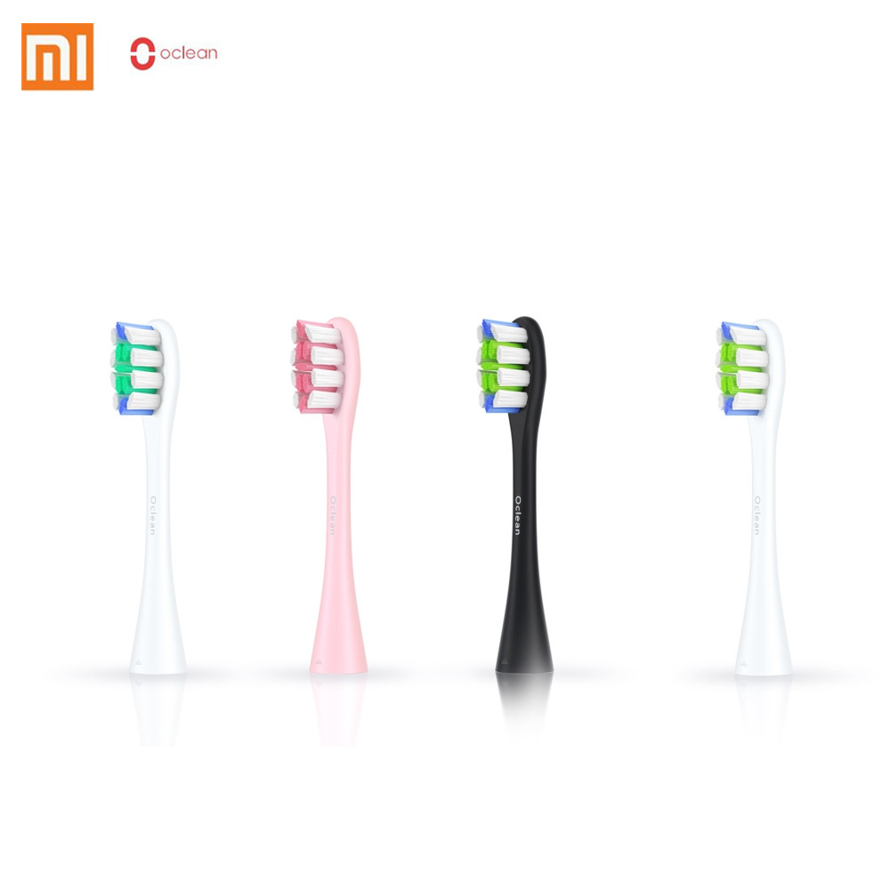 xiaomi Oclean SE One 2PCS Replacement Brush Heads For Automatic Electric Sonic Toothbrush Deep Cleaning Tooth