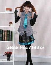 Cheap Vocaloid Miku Hatsune font b Cosplay b font Costumes
