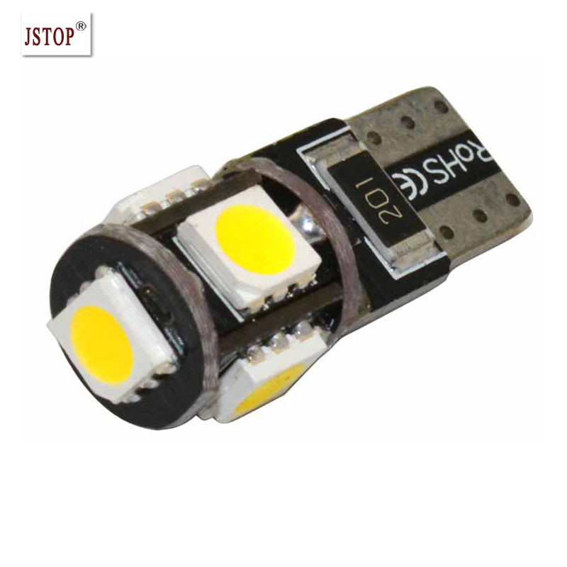 JSTOP 7 stks/set Led auto Lezen lampen Kofferbak verlichting T10 w5w ...