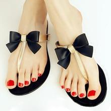 Arc String Gelée Chaussures Femme Gelée Flip Flops Femmes Sandales Dames Plat Pantoufles Zapatos Mujer Sapatos Femininos SCYL