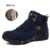Homens Tornozelo Botas de Camurça de Couro Botas de Inverno Quente Botas De Neve Homens Moda Ao Ar Livre Escalada homens Sapatos de Inverno