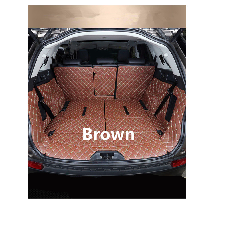 2017 New !! For Land Rover Discovery Sport 2015 2016 2017 2018 Interior Rear Boot Cargo Trunk Mats Car-Styling ! Accessories for mazda cx 5 cx5 2017 2018 leather car interior rear boot cargo trunk mat pad 1set car styling accessories