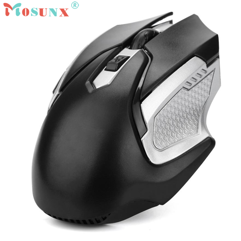 2.4GHZ Wireless USB Optical Mouse 1500DPI 6 Butttons USB 2.0 Receiver Mice For Laptop PC Rato 17July21
